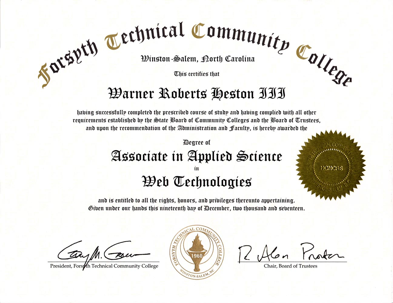 Web Tech Degree Image